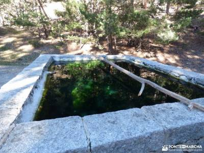 Calzada Romana - Fuenfría-Cercedilla; monasterio rascafria puente en diciembre asociacion de single